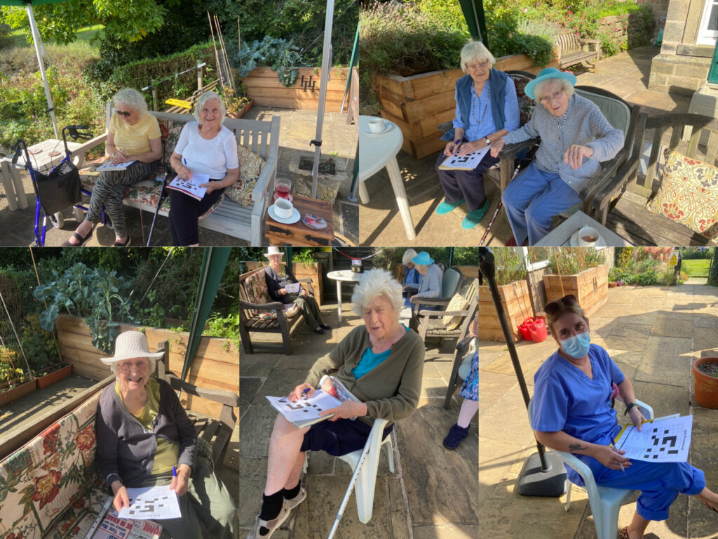 Crosswords at Holbrook Hall Residential Care Home