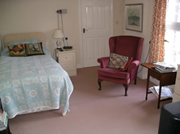 A bedroom at Holbrook Hall Residental Care homes in Derby